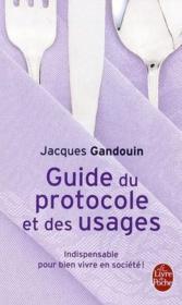 Guide du protocole et des usages - Couverture - Format classique