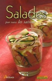 Salades pour toutes les saisons - Couverture - Format classique
