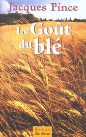 Gout Du Ble (Le) - Intérieur - Format classique