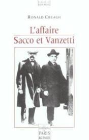 L'affaire sacco et vanzetti - Couverture - Format classique