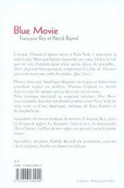 Blue movie - 4ème de couverture - Format classique