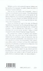 Son Du Silence (Le) - 4ème de couverture - Format classique