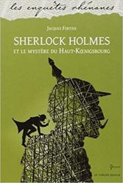 Sherlock Holmes et le mystère du Haut-Koenigsbourg - Couverture - Format classique