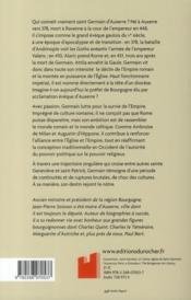 Saint-Germain d'Auxerre - 4ème de couverture - Format classique