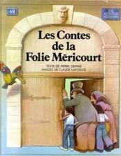 Les Contes de la Folie-Méricourt - Couverture - Format classique