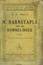 M. Barnstaple Chez Les Hommes Dieux. - Couverture - Format classique