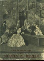Chef-D'Oeuvre Des Musees De Berlin - Couverture - Format classique