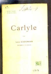 Carlyle. - Couverture - Format classique