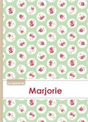 Carnet Marjorie Lignes,96p,A5 Rosesteatime - Couverture - Format classique
