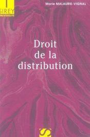 Droit de la distribution - Intérieur - Format classique