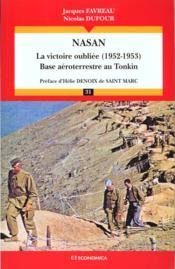 Nassan ; La Victoire Oublier 1952-1953 - Couverture - Format classique