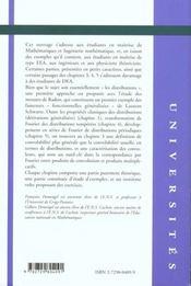 Mesures Et Distributions Theorie Et Illustration Par Les Exemples - 4ème de couverture - Format classique