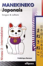 Manekineko japonais langue et culture t.2 - Intérieur - Format classique