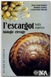 L'escargot helix aspersa ; biologie, élevage - Couverture - Format classique