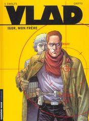 Vlad t.1 ; Igor mon frere - Intérieur - Format classique