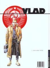 Vlad t.1 ; Igor mon frere - 4ème de couverture - Format classique