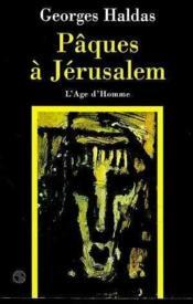 Paques A Jerusalem - Couverture - Format classique