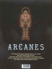 Arcanes t.1 ; le baron fantôme - 4ème de couverture - Format classique