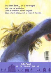 On S'Est Battu, On S'Est Cogne - 4ème de couverture - Format classique