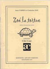 Zoe la tortue ; piece pour enfant - Intérieur - Format classique