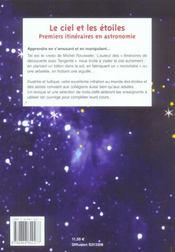 Le Ciel Et Les Etoiles - 4ème de couverture - Format classique