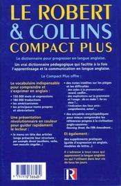 Robert & collins compact plus - 4ème de couverture - Format classique