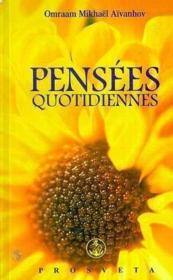 Pensees Quotidiennes 2001 - Couverture - Format classique