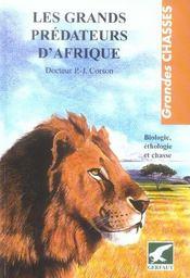 Grands predateurs d'afrique - Intérieur - Format classique