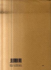 Vers à vif - 4ème de couverture - Format classique