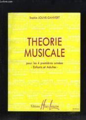 Théorie Musicale, pour les 4 premières années. Enfants et Adultes. - Couverture - Format classique