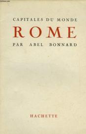Capitales Du Monde, Rome - Couverture - Format classique