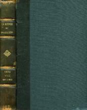 La Revue Du Praticien, Journal D'Enseignement Post-Universitaire, Tome Viii, N°8-14 - Couverture - Format classique