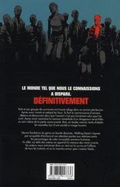 Walking dead T.4 ; amour et mort - 4ème de couverture - Format classique
