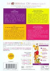 Le bibliobus T.2 ; CM1, CM2 ; la Barbe bleue et autres histoires - 4ème de couverture - Format classique