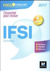 PASS'CONCOURS ; concours IFSI (édition 2017) - Couverture - Format classique