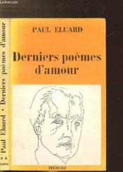 Derniers Poemes D'Amour - Collection P.S. - Couverture - Format classique