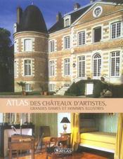 L'atlas des châteaux d'artistes - Intérieur - Format classique