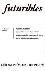 Futuribles N.57 Juillet Aout 1982 - Couverture - Format classique