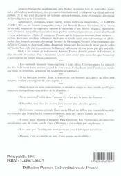 Le jardin d'epicure - 4ème de couverture - Format classique