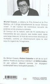 Poesie Ce Roman (La) - 4ème de couverture - Format classique