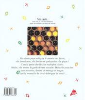 L'abeille l'amie des fleurs - 4ème de couverture - Format classique