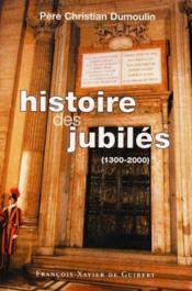 Histoire des jubiles - Couverture - Format classique