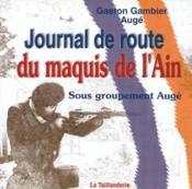 Journal de route du maquis de l'Ain - Couverture - Format classique