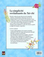 Tai-chi (modus vivendi) - 4ème de couverture - Format classique