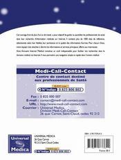 Annuaire Internet Medical ; Les Meilleurs Sites Medicaux Destines Aux Professionnels De Sante ; 2e Edition - Intérieur - Format classique