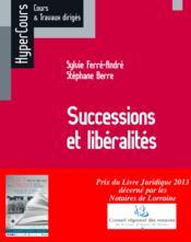 telecharger Droit civil – successions et liberalites (edition 2012) livre PDF/ePUB en ligne gratuit