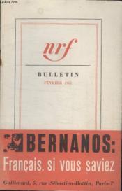 Bulletin Fevrier 1961 N°157. - Couverture - Format classique