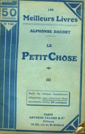 Le Petit Chose. Tome 3. Collection : Les Meilleurs Livres N° 108. - Couverture - Format classique