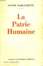 La Patrie Humaine. - Couverture - Format classique