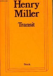 Transit. Pièce En 7 Scènes - Couverture - Format classique